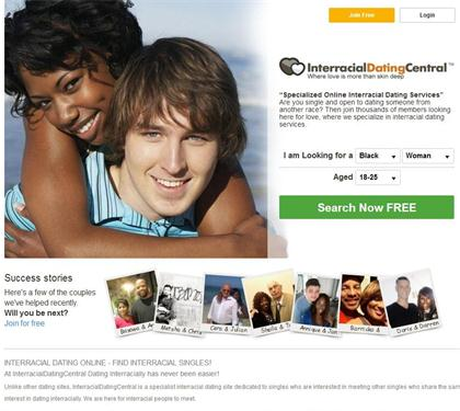 """Interracial Dating Site for Black and White singles"""